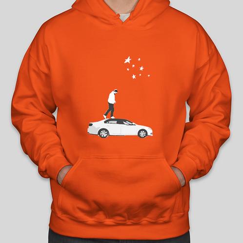 Familiar Hoodie - Orange