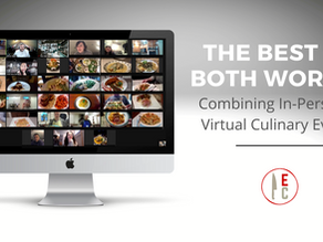 The Best of Both Worlds - Combining In-Person and Virtual Culinary Events
