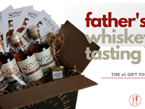 Give Dad a California Whiskey Tasting Kit for Father's Day!