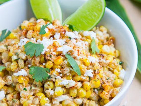 Eat This Now |Authentic Mexican Recipes - Esquites (Mexican Warm Corn Salad)
