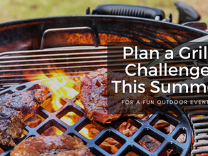Plan a Grill Challenge This Summer For a Fun Outdoor Event
