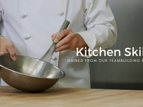 What kitchen skills can my group expect to learn from a Culinary Team Building Activity? Part 1