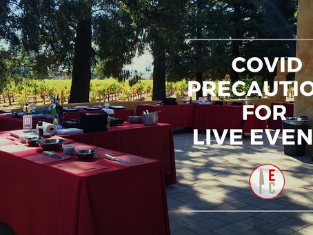 COVID Precautions for Live Events