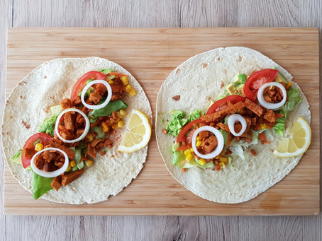 Heute gibt´s vegane Tortillas