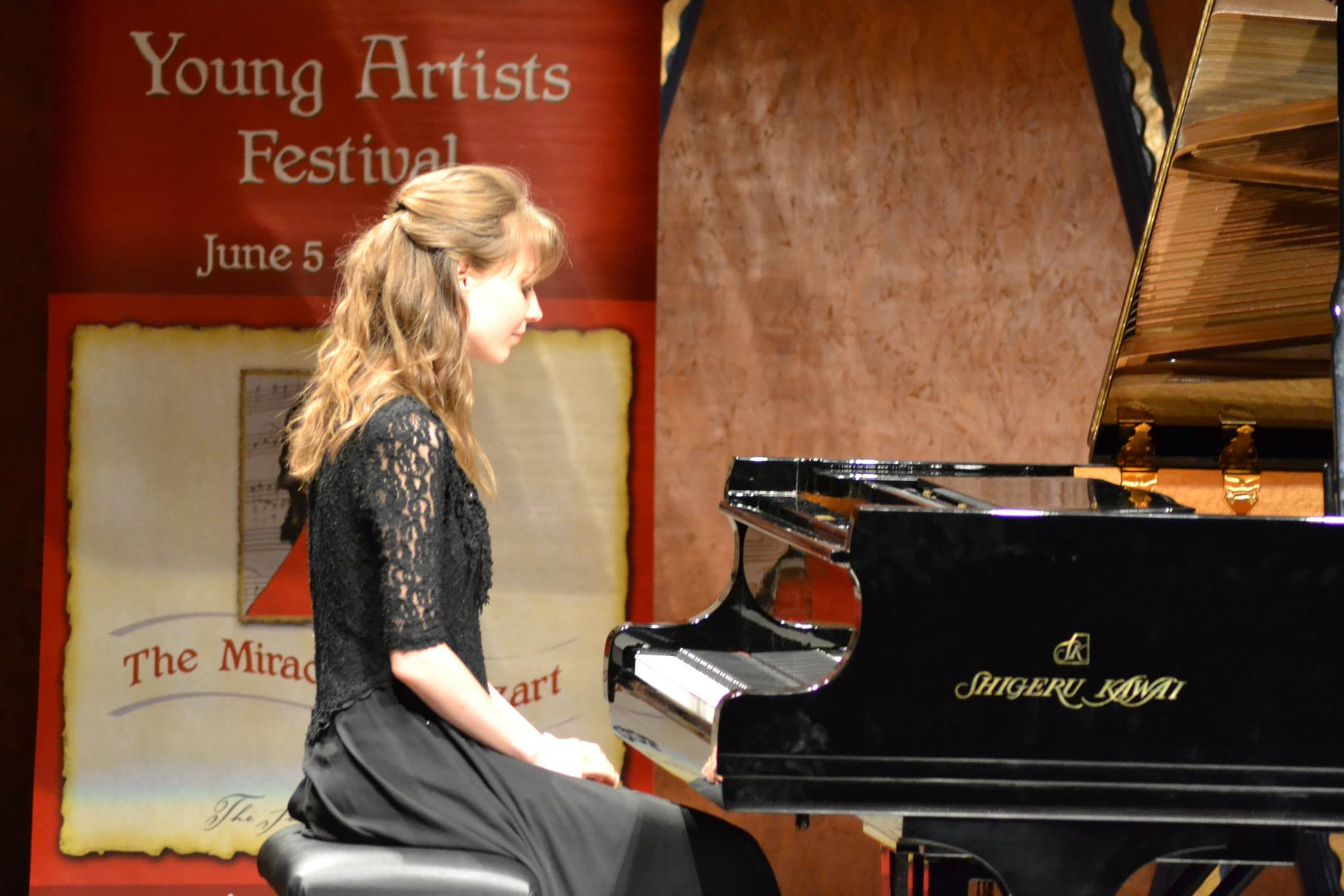 Performing at PianoTexas Festival