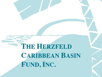 The Herzfeld Caribbean Basin Fund, Inc. Declares $0.211 Per Share Year-End Distribution and Appoints