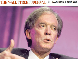 WSJ: Gross' Exit Plays Havoc with Pimco Closed-End Funds