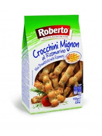 Палочки хлебные с розмарином Гриссини Кроккини, 150гр