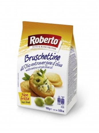 Хрустящие хлебцы Брускеттине с оливковым маслом, 100гр
