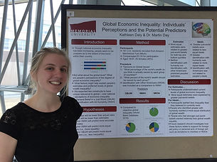 Kathleen at Psychology Research Day 2018
