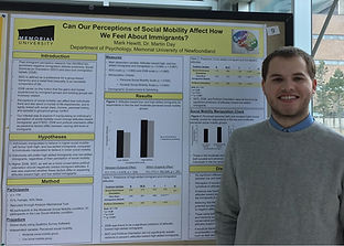 Mark at Psychology Research Day 2018
