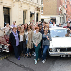 The Cast of Made In Dagenham '14