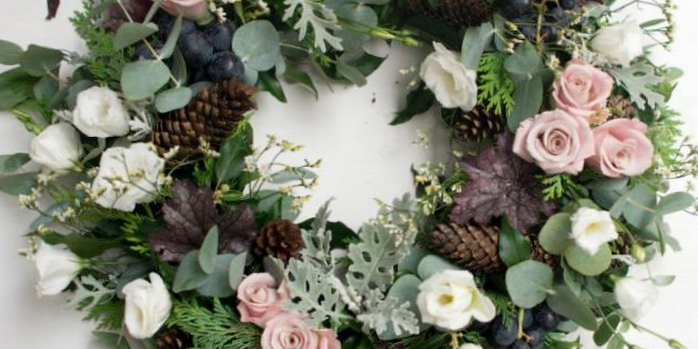 CHRISTMAS WREATH MAKING 10TH DECEMBER 2019