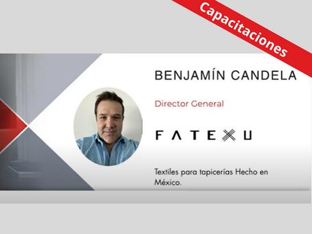 Fatexu, textiles para tapicerías hecho en México.