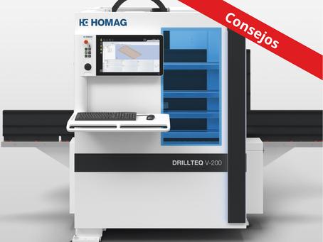 ¿Cómo optimizar procesos en soluciones de CNC vertical con el DRILLTEQ V-200 de Stiles-HOMAG?