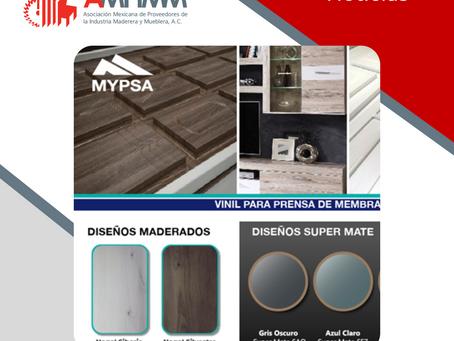 MYPSA, Siguiendo Tendencias: Nuevos diseños de vinil termoformable.