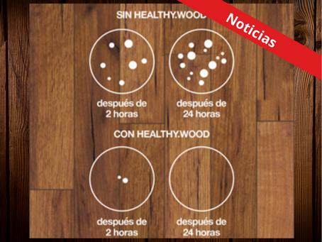 Novedosa línea de acabados con propiedades antibacteriales, ideal para desinfectar superficies.