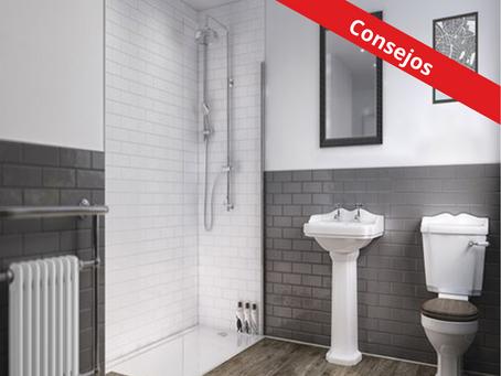 Consejos para renovar las paredes de tu baño.