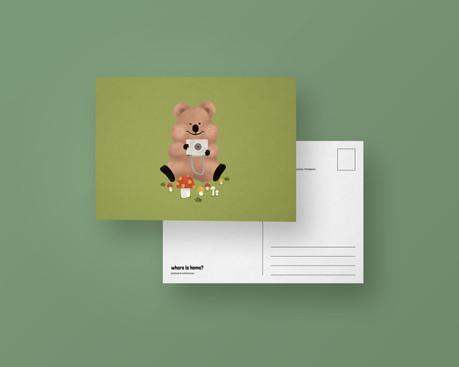 Quokka Postcard