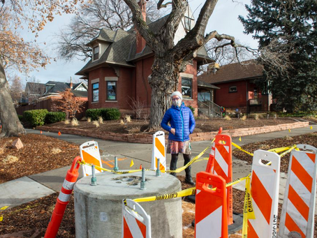 Ugly 5G poles appearing in Yalecrest and near historic homes