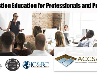 Next Addiction Counsellor Package Course Dates - Basic, Intermediate and Advanced Zoom Lectures