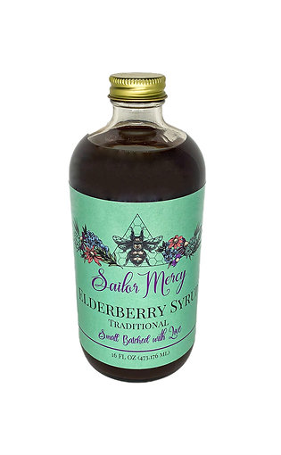 16oz Traditional Elderberry Syrup