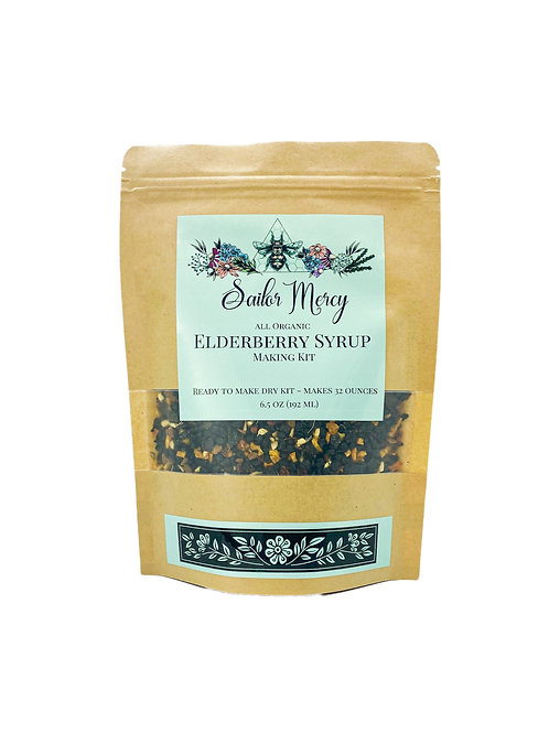 32oz Elderberry Syrup Making Kit