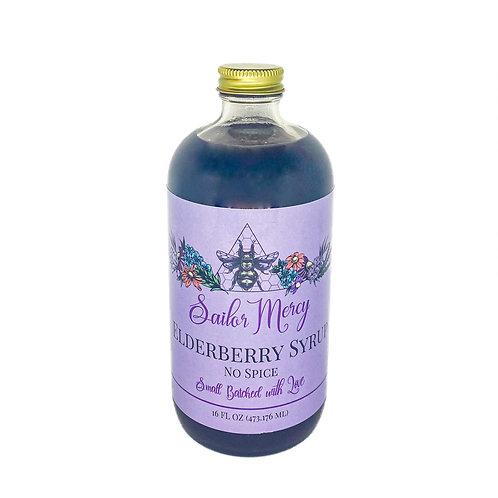 16oz No Spice Elderberry Syrup