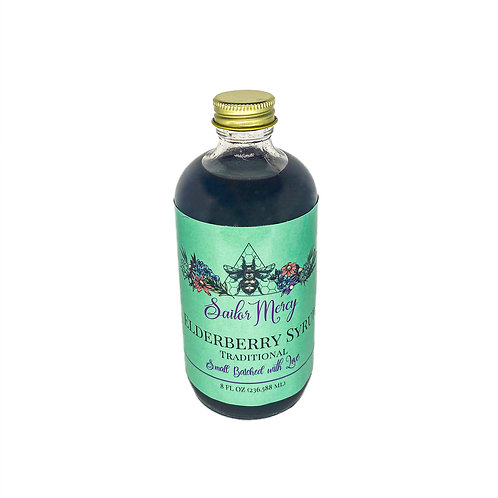 8oz Traditional Elderberry Syrup