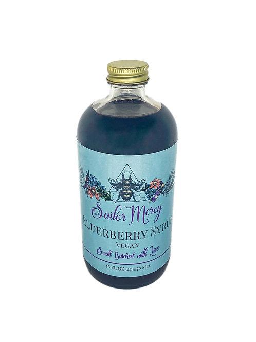 16oz Vegan Elderberry Syrup