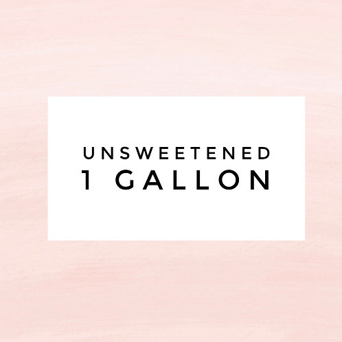 Bulk 1 Gallon Unsweetened Elderberry Syrup