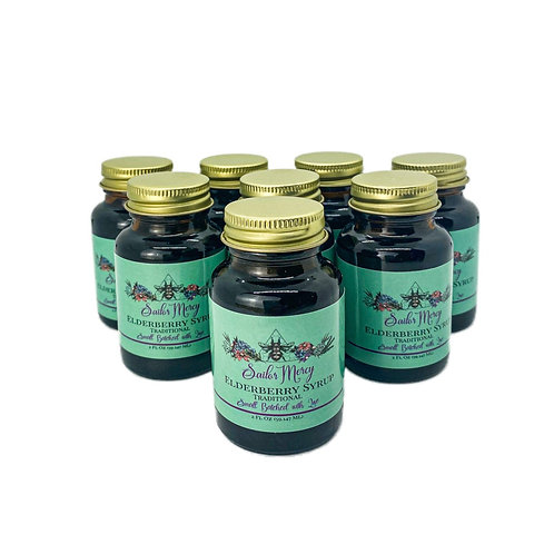 8-Pack of 2oz Traditional Elderberry Syrup