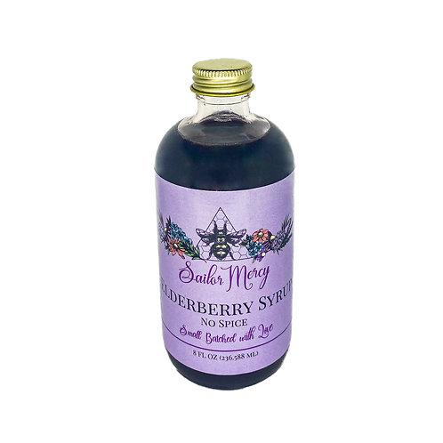 8oz No Spice Elderberry Syrup