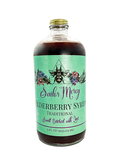 35oz Traditional Elderberry Syrup