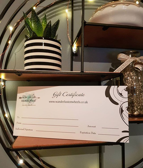 We now sell gift certificates! 🎁 Availa