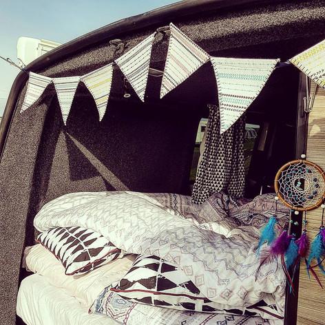 camper bunting