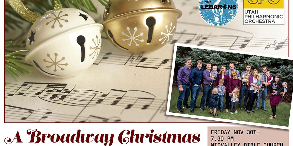 Broadway and Christmas Family Concert