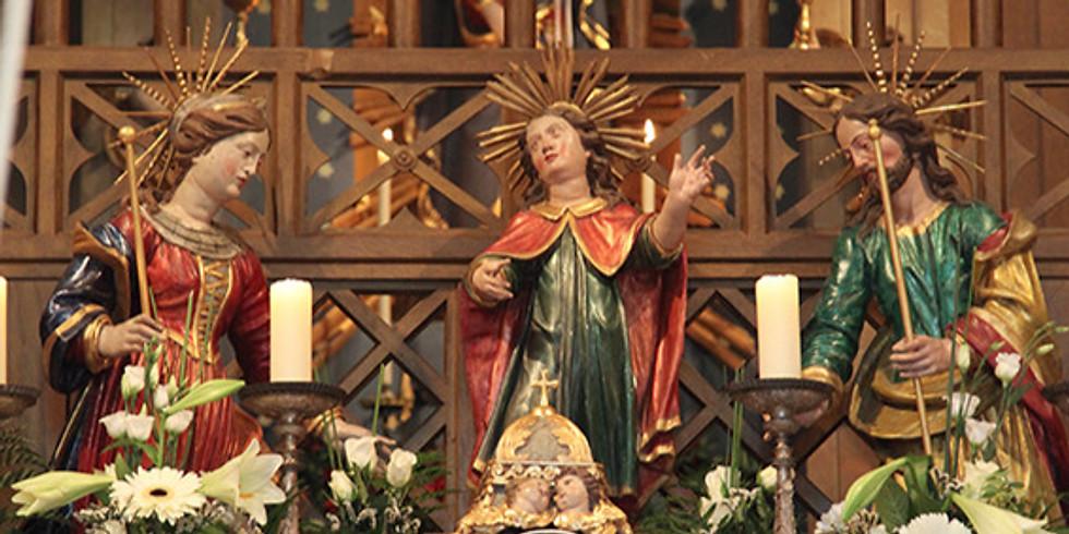 Patrozinien der Kapelle von Biberegg
