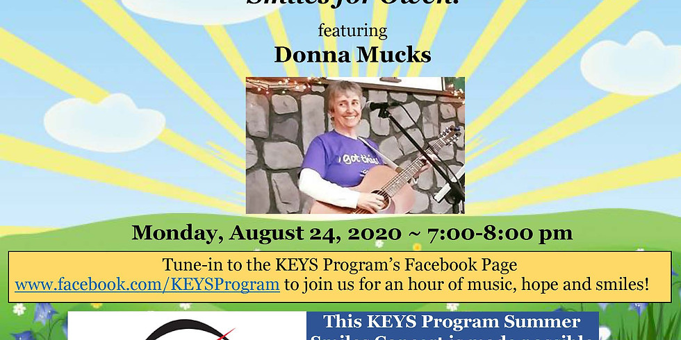 """Smiles for Owen"" featuring Donna Mucks!"