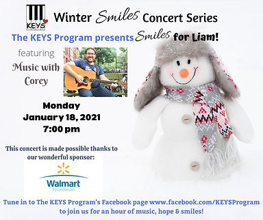 Smiles for Liam - Music with Corey Jan 1