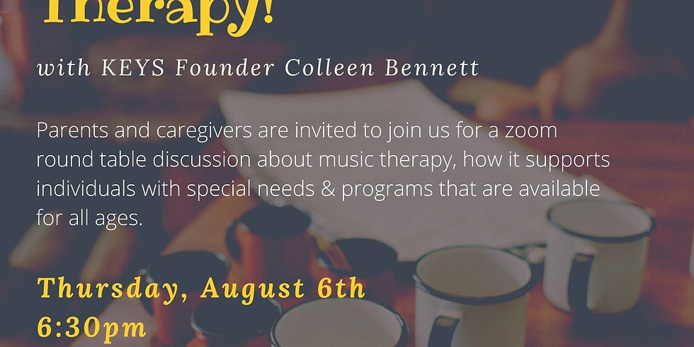 Let's Talk Music Therapy!