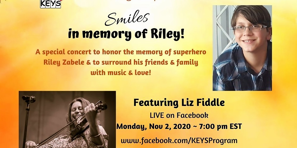 Smiles in Memory of Riley!