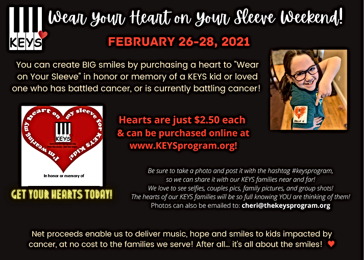 Wear Your Heart on Your Sleeve Flyer 1.2