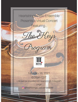 heartstrings x keys program concert post