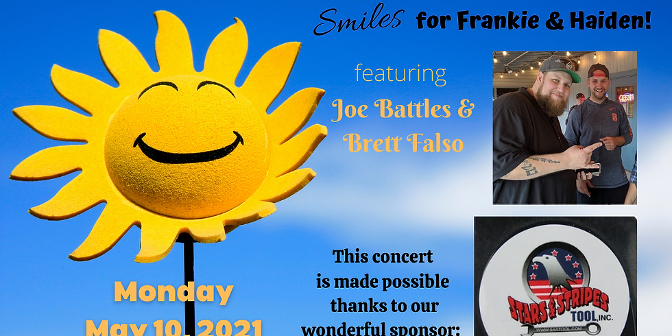 Smiles for Frankie and Haiden!