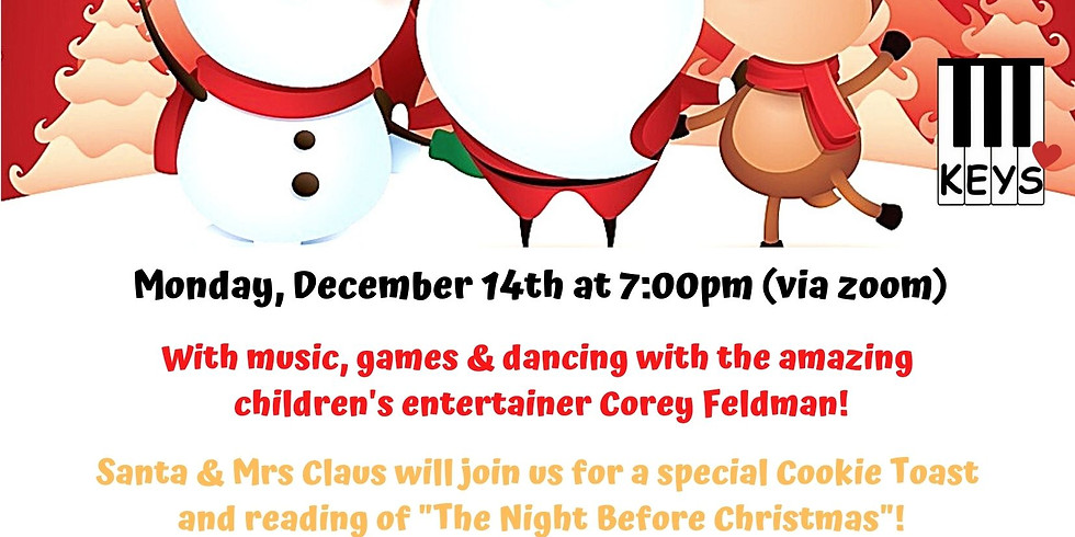 KEYS Holiday Smiles Party!
