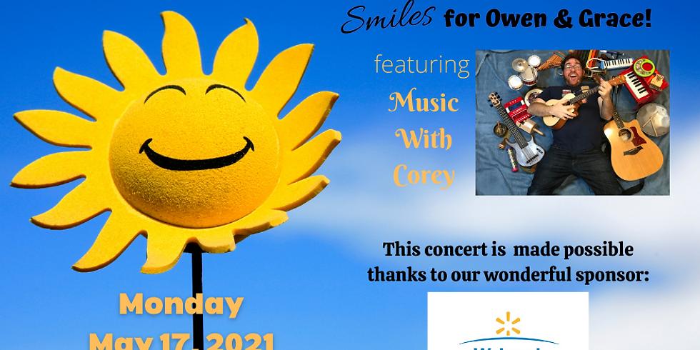 Smiles for Owen & Gracie!