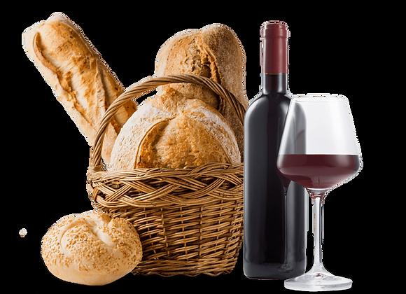 Genusskurs 2 - Brot und Wein - eine Harmonie