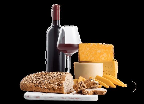 Genusskurs 3 - Brot, Wein und Käse