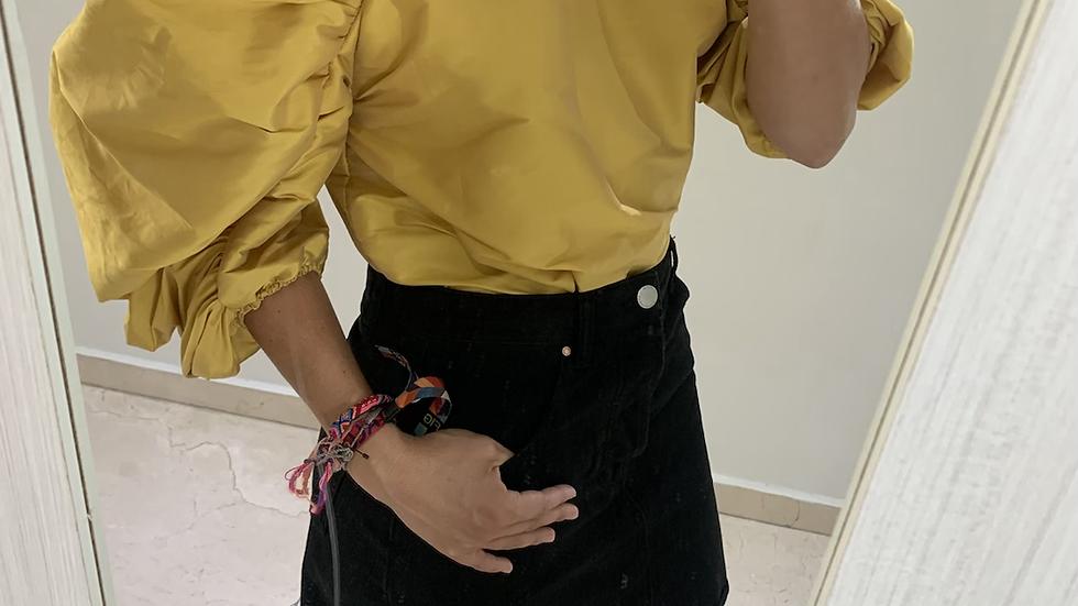 Camisa farol amarilla